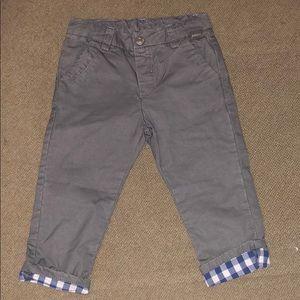 Infant boys grey pants